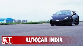 Lamborghini Huracán Performante VS Indian Navy MiG-29k   2018 Porsche Cayenne   Autocar India