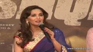 Madhuri & Huma Grand Music Launch of Dedh Ishqiya