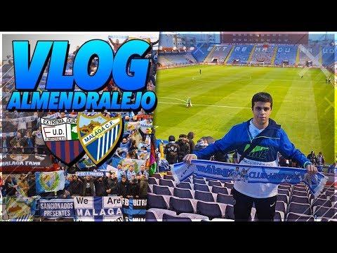 DESPLAZAMIENTO a ALMENDRALEJO   Extremadura vs Málaga (Vlog)