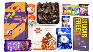 NEW !! Interesting  Candies, chocolates, nuts, candy boxes