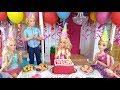 Barbie Birthday Party Routine In Hello Dream House باربي عيد ميلاد الحزب Barbie Festa De Aniversário mp3