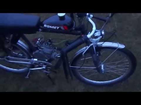 Rower z silnikiem opinia / motorized bicycle review