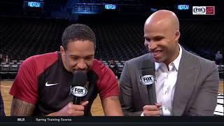 Was It Something They Said: Channing Frye, Richard Jefferson reunite with Fred McLeod