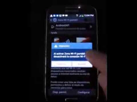 Compartir conexión a Internet de un Samsung Galaxy S4 con laptop o tablet