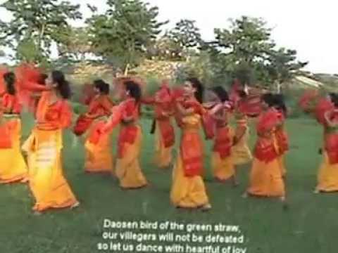 Bagurumba Dance Of Bodoland. video