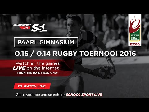 Rugby: Paarl Gim U16 Tournament, 21 March 2016 - Day 2.