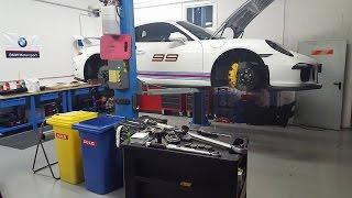 DIY Brake Pad Change - Porsche GT3 991/911 - PCCB (Ceramic Breaks)