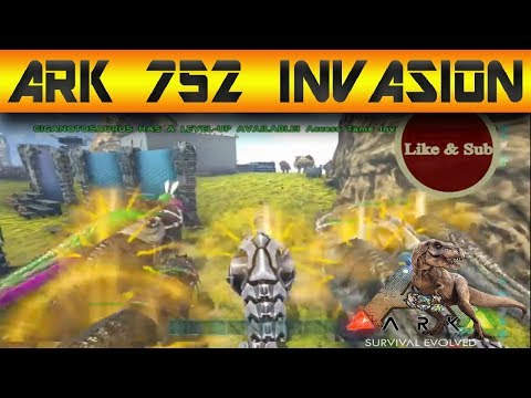 Ark Official Server 752 Invasion (Faction Vs Hayabusa)
