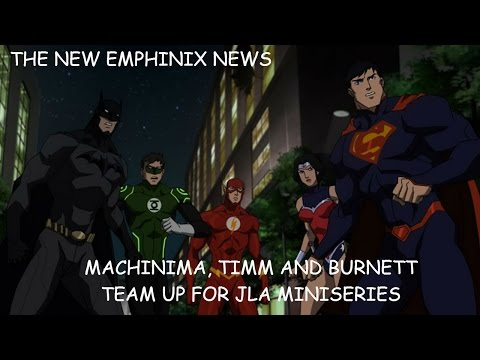 Machinima teams up with Timm and Burnett for JLA miniseries