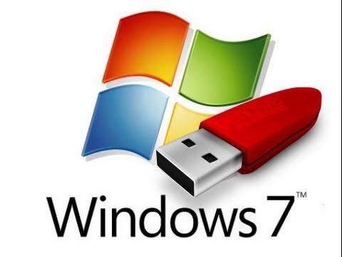 ลง Windows 7 ด้วย USB Flash Drive