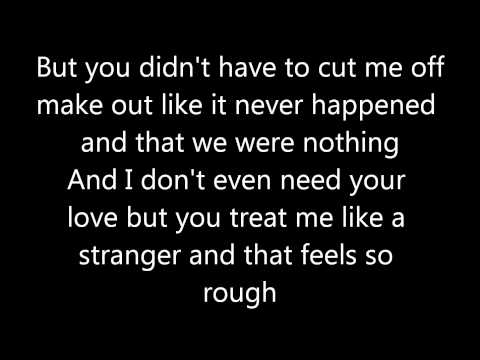 Somebody That I Used To Know- Gotye Ft. Kimbra (lyrics) video
