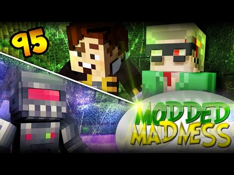 Minecraft: SHARING NEEDLES! - Modded Madness #95 (Yogscast Complete Pack)