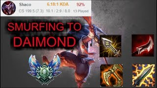 Shaco Jungle Smurf to Diamond - Platin 3 Ranked (Platin 1 mmr) [League of Legends] Infernal Shaco