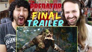 THE PREDATOR | FINAL TRAILER - REACTION & REVIEW!!!