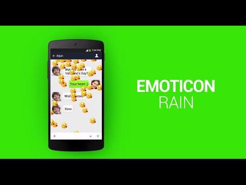 WeChat Quickies: Surprise Emoticon Rain