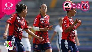 Resumen Lobos BUAP 0 - 2 Veracruz | Liga MX Femenil - J6 | Televisa Deportes