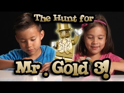 The Hunt for MR. GOLD PART 3! EvanTubeHD LEGO Series 10 Minifigure Unboxing & Review