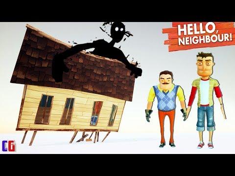 Hello Neighbor ХОРОШАЯ КОНЦОВКА! Я вернулся и СПАС СОСЕДА Финал игры Привет Сосед от Cool GAMES