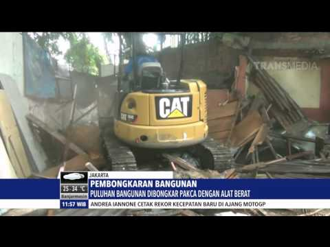 PEMBONGKARAN PAKSA BANGUNAN DI JAKARTA