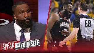 Kendrick Perkins: Lack of accountability, not refs, led to Rockets' loss | NBA | SPEAK FOR YOURSELF