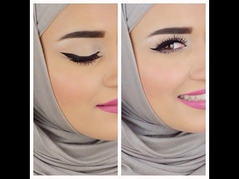Eyebrows Eyeliner tutorial .. كيفية رسم الحواجب والايلاينر