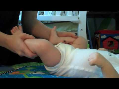 Baby Yoga for Gas and Colic Relief