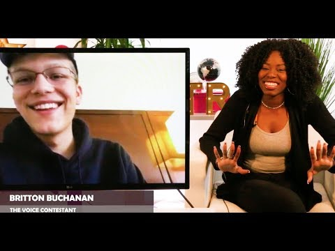 Team Alicia's MCM Britton Buchanan REVEALS How He Will Win The Voice & Meeting His GF On The Show!