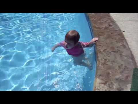 21 month old swimmer