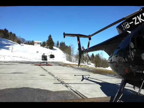 Helicoptero Schweizer 333 Schweizer 333 Take Off