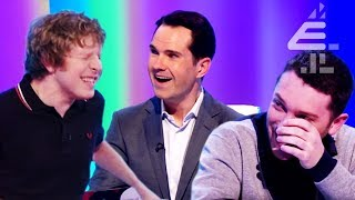 Jimmy Carr Tries ELECTROCUTING Josh Widdicombe?!   8 Out of 10 Cats   Best of Series 15 Pt. 2