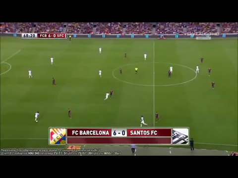 Barcelona vs Santos (8-0) All Goals & Highlights 02.08.2013 Trofeu Joan Gamper