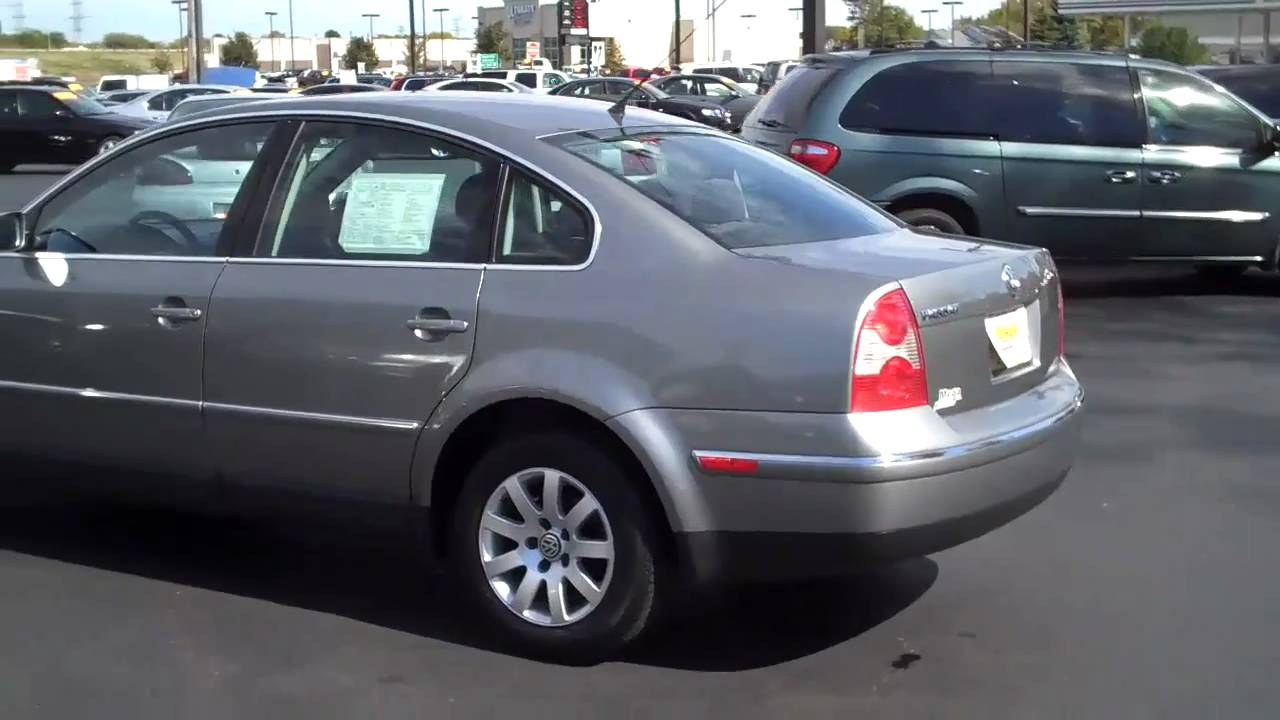 2003 Volkswagen Passat Gls Youtube