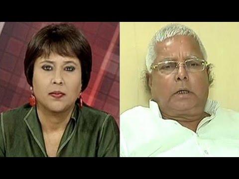 'Nitish Kumar my 'chhota bhai'; was kidnapped by BJP': Lalu Prasad to NDTV