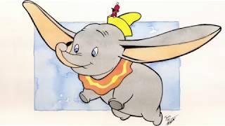 Dumbo Movie Review & Speed Art