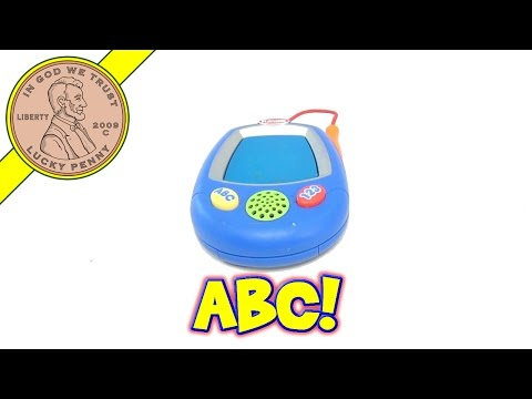 Playskool Magic Touch Screen Palm Learner Toy - ABC's Counting, 2002 Hasbro Toys