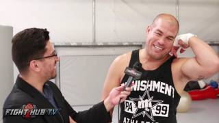 "Tito Ortiz ""McGregor won but Diaz I love you! Heart like a motherf*cker! 3rd fight at 155!"""