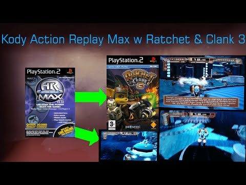 Ratchet And Clank TV - #3 Kody Action Replay Max w Ratchet & Clank 3