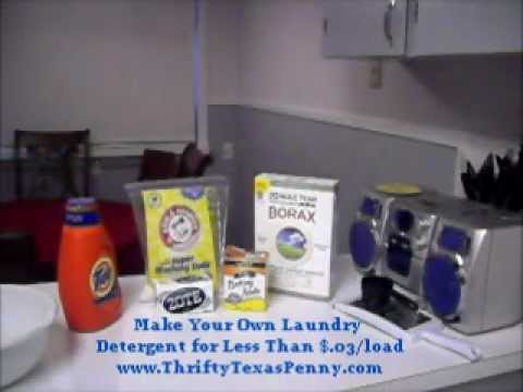 Make Your Own Laundry Detergent Like Tide Part 1 Youtube