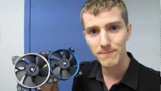 Corsair SP Series Pressure Optimized 120mm Cooling Fans Unboxing & First Look Linus Tech Tips