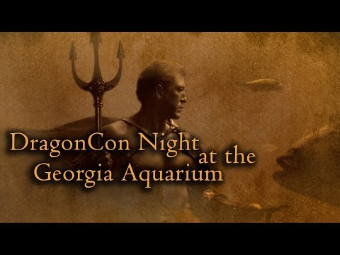DragonCon Night at the Georgia Aquarium 2014