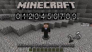 Minecraft: How To Enable The Death Counter (No Mod Necessary)