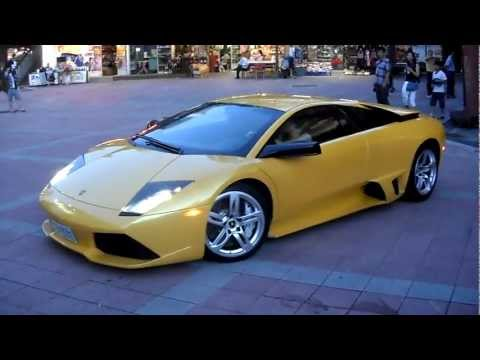 藍寶堅尼Lamborghini Murcielago LP640-4 start engine