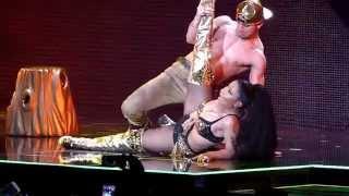 Nicki Minaj Anaconda - The Pinkprint Tour O2 Arena London