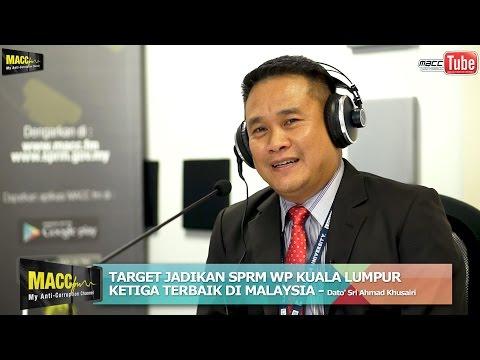 Target Jadikan SPRM WP Kuala Lumpur Ketiga Terbaik Di Malaysia