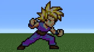 Minecraft 360 How To Make Gohan Remake