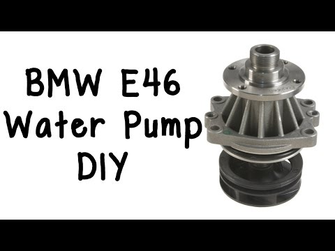 BMW E46 Water Pump and Belts/Tensioner/Pulleys DIY