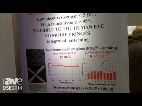 DSE 2014: Rolith Introduces Its Transparent Metal Mesh Electrode Technology for Touchscreen Displays