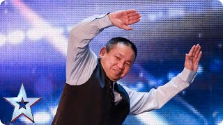 Roller dancer Feng Xue is going round in circles   Britain's Got Talent 2015