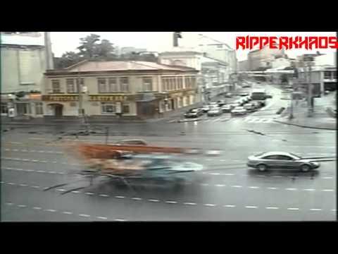 Compilation d'Accident de voiture