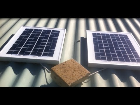 Solar panel hook up to grid